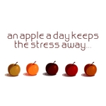 An Apple A Day Keeps The Stress Away: Deep Electronic Pleasure