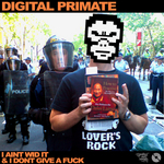 DIGITAL PRIMATE - I Ain't Wid It & I Don't Give A Fuck EP (Front Cover)