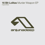 16 BIT LOLITAS - Murder Weapon EP (Front Cover)
