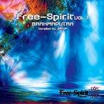 VARIOUS - Free-spirit Volume 1 - 'Brahmaputra' (Front Cover)