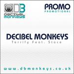 DECIBEL MONKEYS, The feat STACE - Terrify (Back Cover)