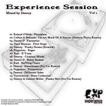 VARIOUS - Experience Session Vol 1 (Back Cover)