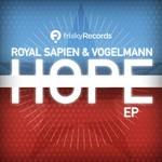 ROYAL SAPIEN/VOGELMANN - Hope EP (Front Cover)