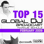 Global DJ Broadcast Top 15 - February 2009