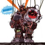 DAGOBERT - Ready To Rock (Front Cover)