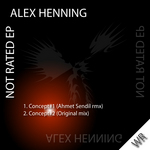HENNING, Alex - Not Rated EP (Front Cover)