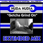 HUDA HUDIA - Getcha Grind On (extended mix) (Front Cover)