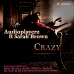 AUDIOPLAYERZ feat SARAH BROWN - Crazy (Front Cover)
