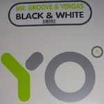 MR GROOVE/VERGAS - Black & White (Front Cover)