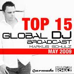 Global DJ Broadcast Top 15 - May 2009