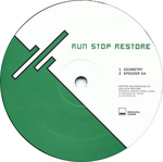 RUN STOP RESTORE - Geometry EP (Front Cover)