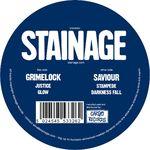 GRIMELOCK - Justice/Stampede (Front Cover)