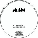 NUMA - Maniacs (Back Cover)
