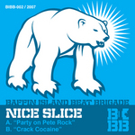 NICE SLICE - Party On Pete Rock (Front Cover)