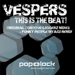 VESPERS - This Is The Beat EP (Front Cover)