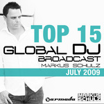 Global DJ Broadcast Top 15 July 2009