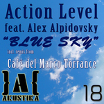ACTION LEVEL feat ALEX ALPIDOVSKY - Blue Sky (Front Cover)