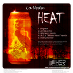 LA VEDA - Heat (Front Cover)