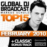 Global DJ Broadcast Top 15 (February 2010)