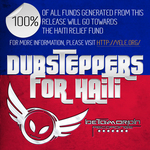 VARIOUS - Dubsteppers For Haiti: Volume One (Back Cover)
