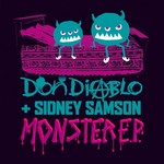 DIABLO, Don/SIDNEY SAMSON - Monster EP (Front Cover)
