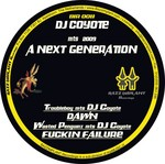 TROUBLEBOY/WASTED PENGUINZ meets DJ COYOTE - Dawn (Front Cover)