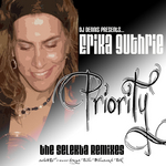 DJ DENNIS presents ERIKA GUTHRIE - Priority: The Selekta Remixes (Front Cover)