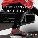 LAAKENSTYK, Sven - Just Listen (Front Cover)
