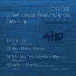 GHETTOZOID feat YOLANDA - Seeking (Front Cover)