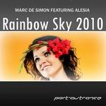 DE SIMON, Marc feat ALESIA - Rainbow Sky 2010 (Front Cover)