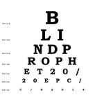 BLIND PROPHET - 20/20 EP (Front Cover)