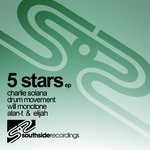 SOLANA, Charlie/DRUM MOVEMENT/WILL MONOTONE - 5 Stars EP (Front Cover)
