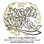 VARIOUS - BOTY Favorites: Best Of The Battle Of The Year Soundtrack (Front Cover)