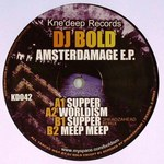 DJ BOLD - Amsterdamage EP (Front Cover)