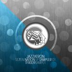 JAZZATRON - Seven Nation LP Sampler 01 (Front Cover)