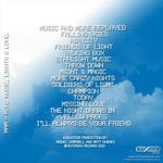 MAM - More Music Lights & Love (Back Cover)
