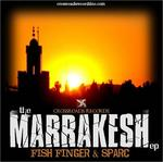 FISH FINGER/SPARC - The Marrakesh EP (Front Cover)