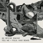 AU REVOIR SIMONE - Tell Me (remix) (Front Cover)