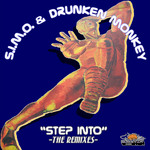 SIMO/DRUNKEN MONKEY - Step Into EP (Front Cover)