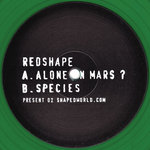 REDSHAPE - Alone On Mars? (Front Cover)