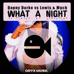 DANNY DARKO vs LEWIS & MUCH - What A Night (Front Cover)
