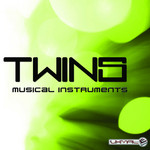 TWINS - Musical Instruments (Front Cover)