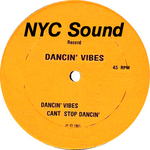 DANCIN VIBES - Dancin Vibes (Front Cover)