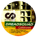 DREADSQUAD - Caravan (remixes) (Back Cover)