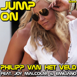 VAN HET VELD, Philipp feat JOY MALCOLM & EMILIANO - Jump On (Front Cover)
