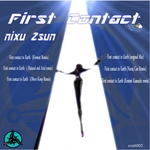 NIXU ZSUN - First Contact To Earth (Front Cover)