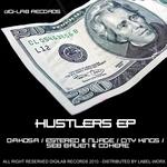 DAKOSA/ES TEREO & NUAGE/SEB BRUEN & COHERE/CITYKINGS - Hustlers EP (Front Cover)