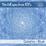 GAIANA - The Full Spectrum EP (Blue) (Front Cover)