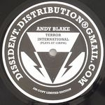 BLAKE, Andy - Terror International (Front Cover)
