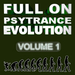 VARIOUS - Full On Psytrance Evolution V1 (Front Cover)